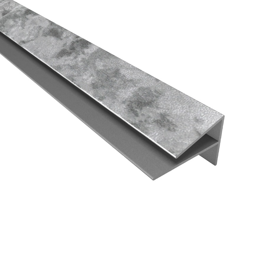 ACP Galvanized Steel PVC Smooth Outside Corner Ceiling Grid Trim