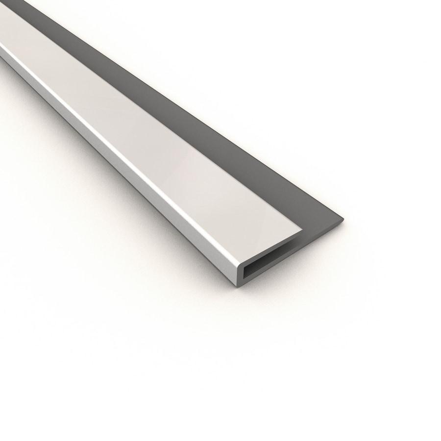 Ceiling Trim Lowes: Shop ACP Gloss White PVC Smooth J-Channel Ceiling Grid