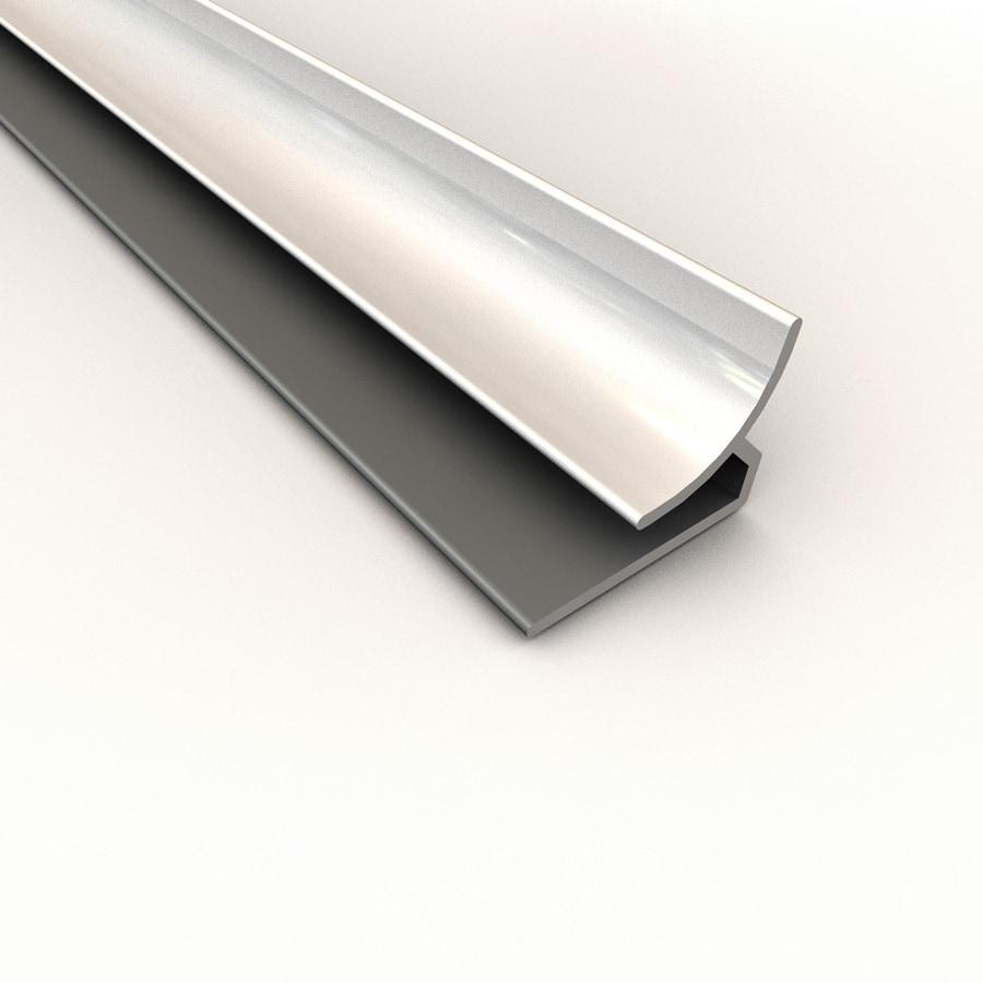 ACP Gloss White PVC Smooth Inside Corner Ceiling Grid Trim