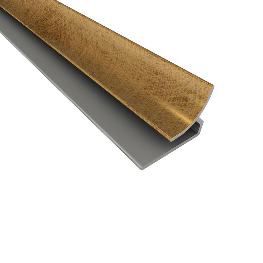 Ceiling Trim Lowes: Shop ACP Antique Bronze PVC Smooth Inside Corner Ceiling