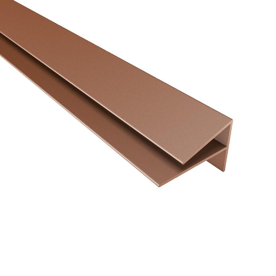 Pvc Exterior Corner Trim : Shop acp argent copper pvc smooth outside corner ceiling