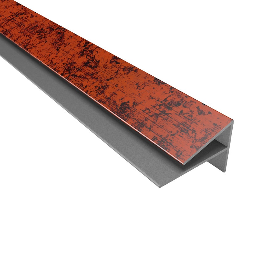 ACP Moonstone Copper PVC Smooth Outside Corner Ceiling Grid Trim