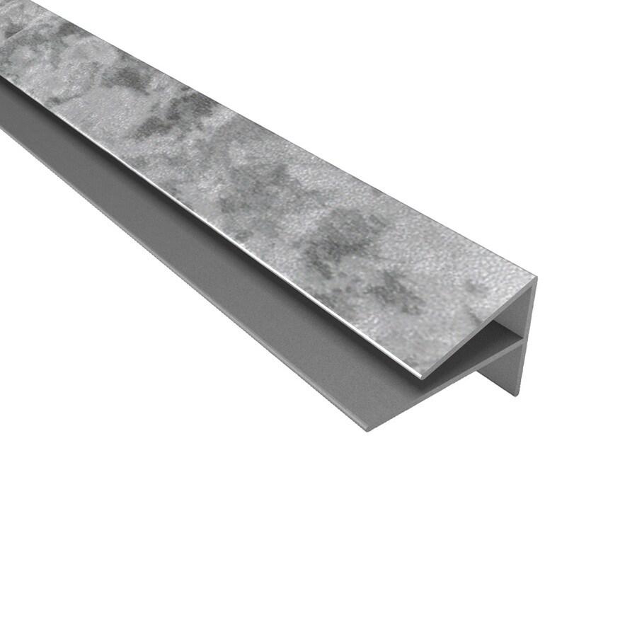 ACP Galvanized Steel PVC Smooth Outside Corner Ceiling Grid Trim