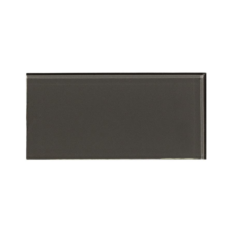 Aspect Glass 3-in x 6-in Leather Backsplash