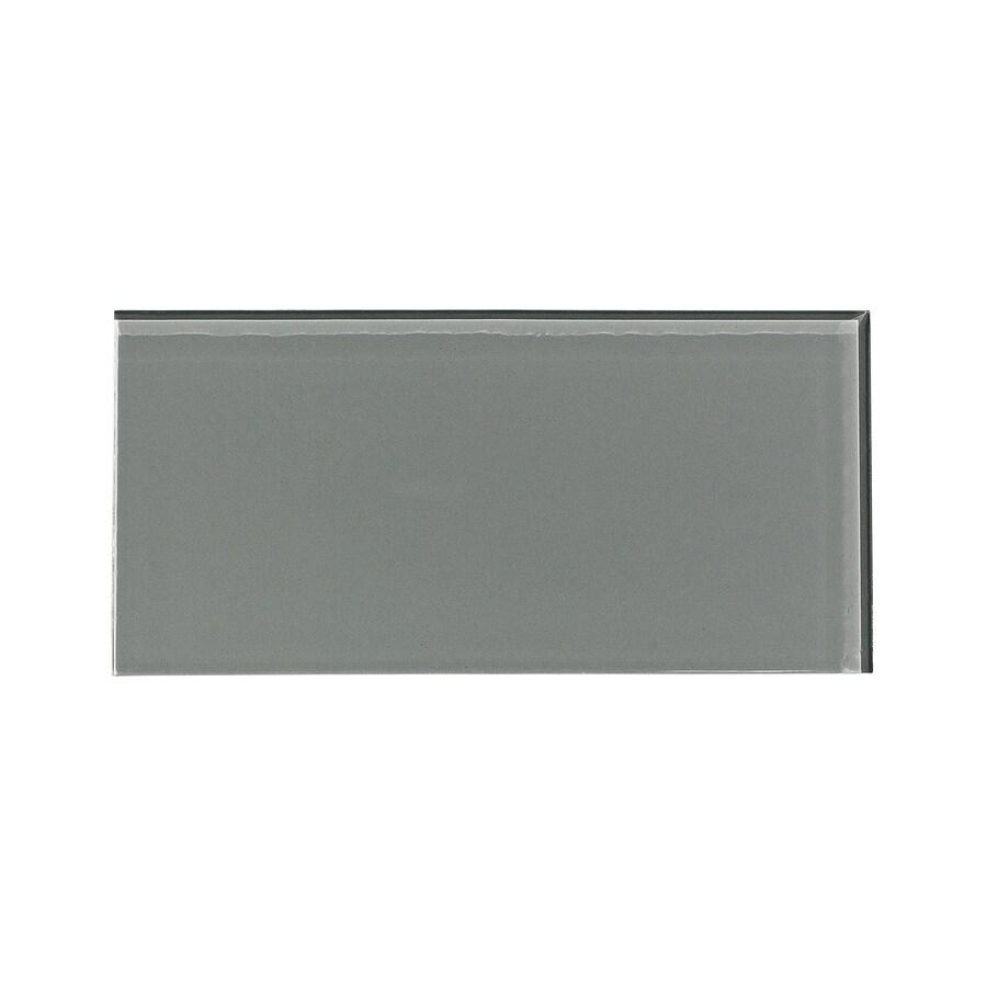 Aspect Glass 3-in x 6-in Steel Backsplash