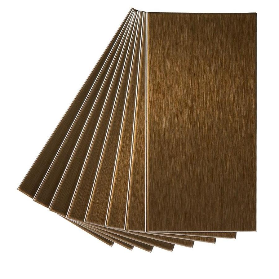 Shop Aspect Metal 3 In X 6 In Bronze Metal Multipurpose