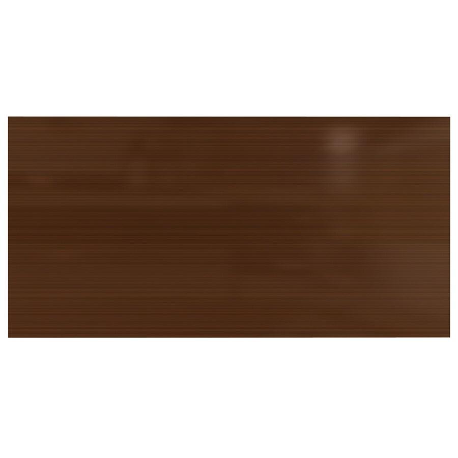 Fasade 6-in x 12-in Oil-Rubbed Bronze Laminate Kitchen Backsplash