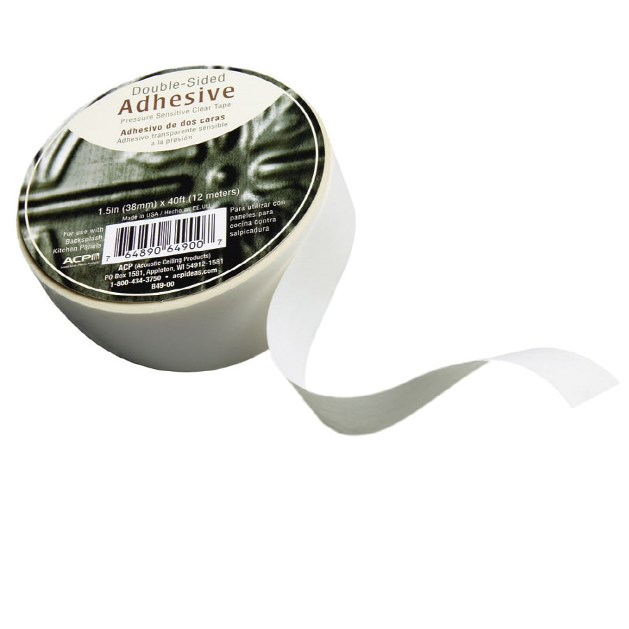Fasade 1.5-in W x 40-ft Two-Sided Tape