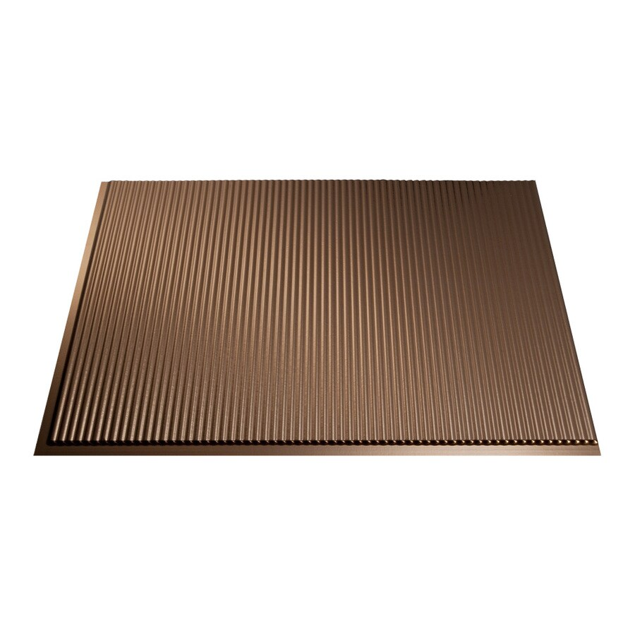 in x 24 5 in oil rubbed bronze thermoplastic multipurpose backsplash