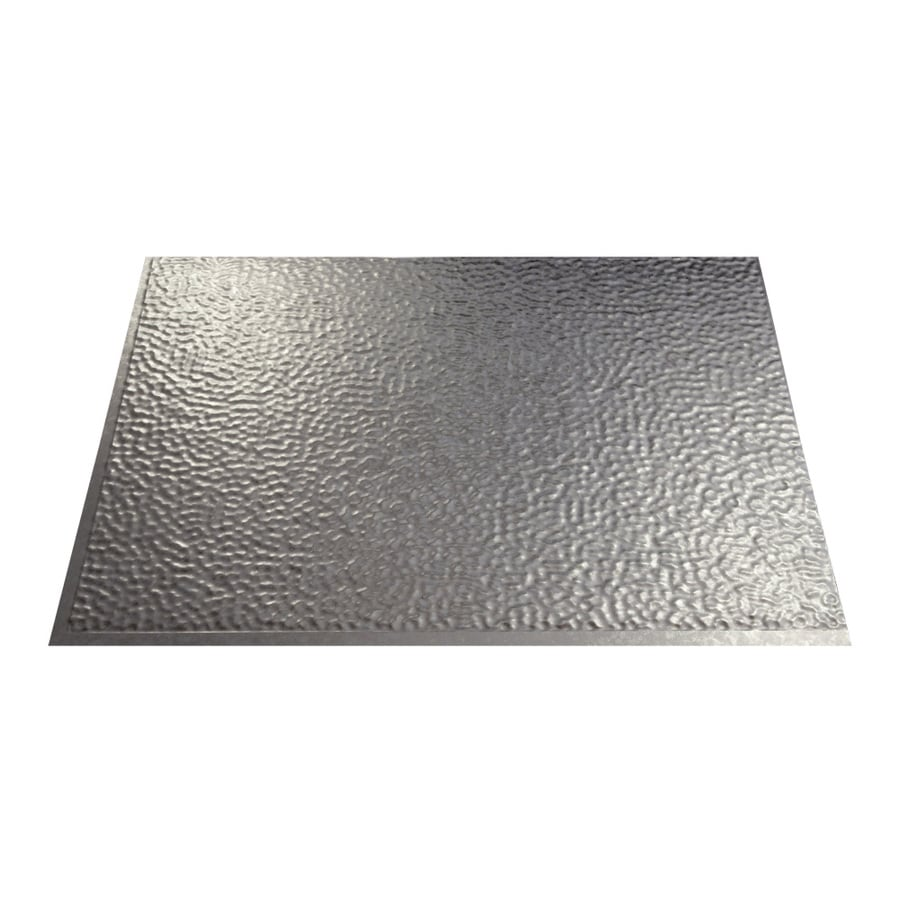in galvanized steel thermoplastic multipurpose backsplash at