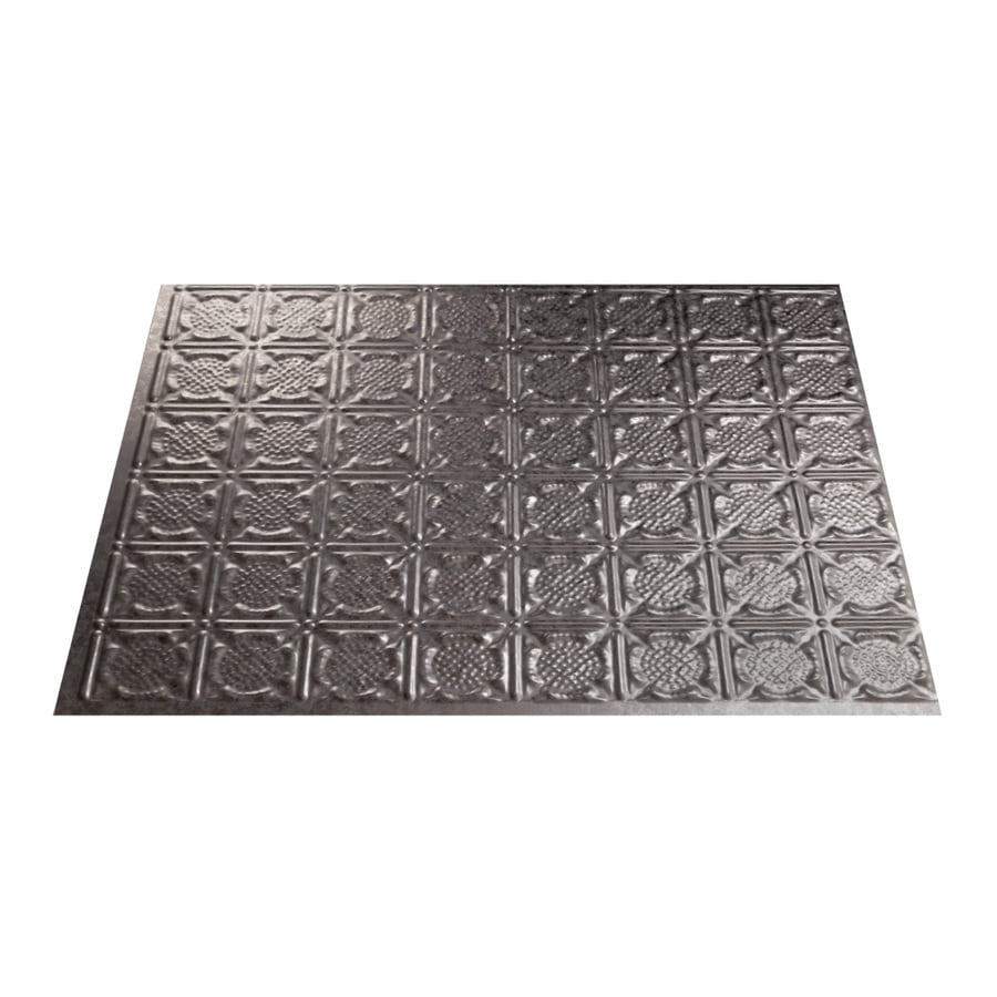 shop fasade 18 5 in x 24 5 in galvanized steel
