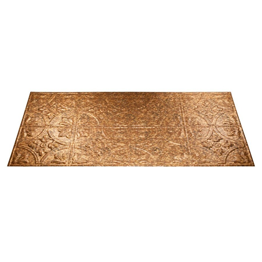 shop fasade cracked copper faux tin surface mount ceiling