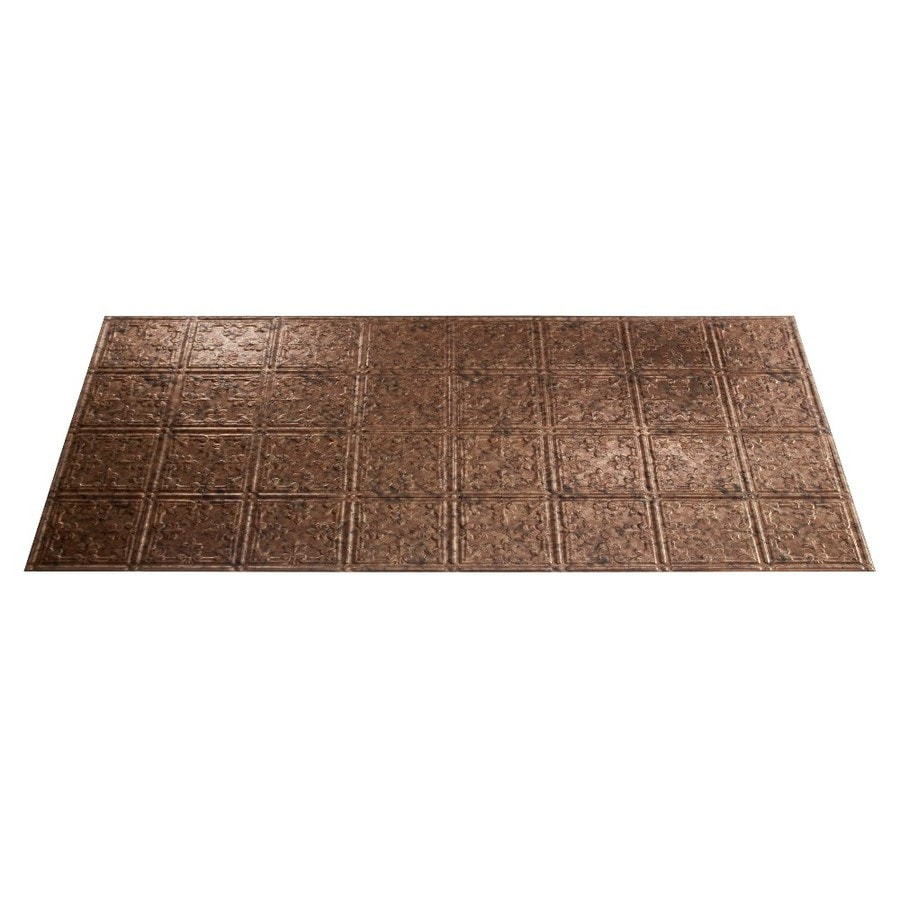 Lowes faux tin ceiling tiles