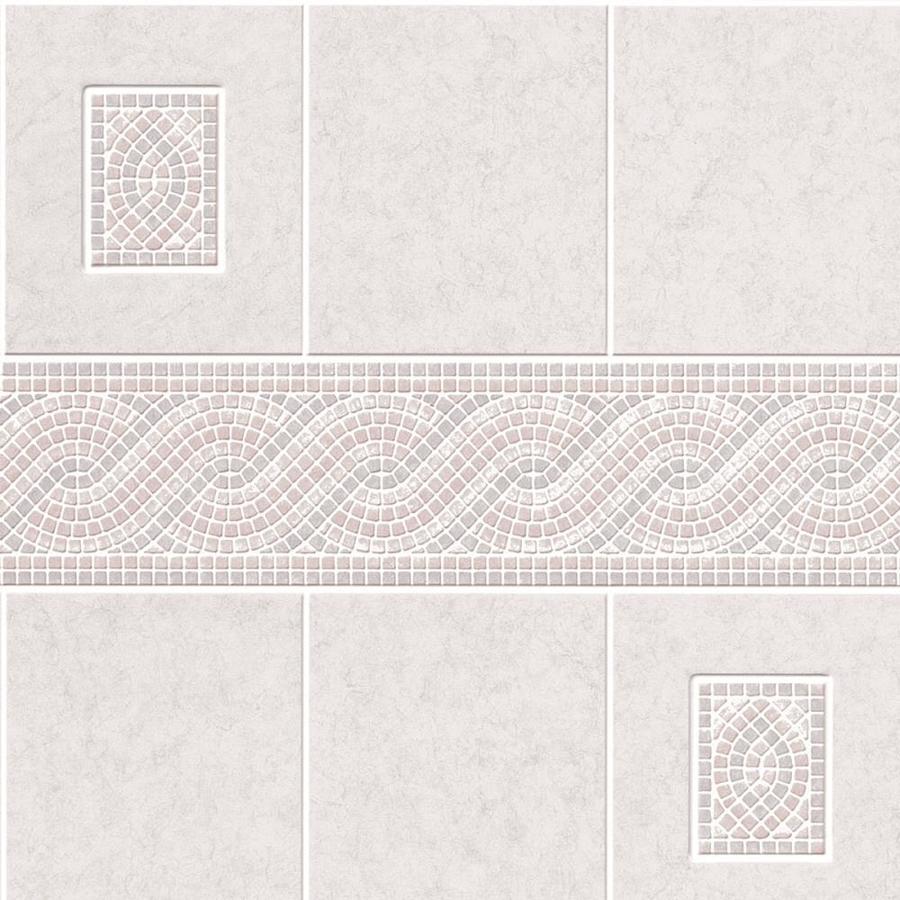 DPI 3.98-ft x 7.98-ft Light Gray Tile Board