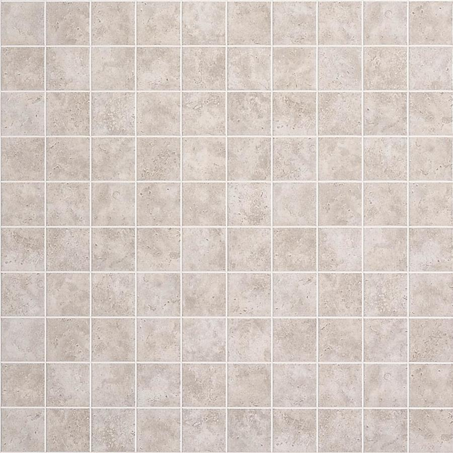 FashionWall 3.98-ft x 7.98-ft Gray Tile Board