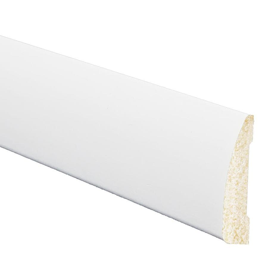 7/16-in x 1-15/16-in x 7-ft White Polystyrene Chair Rail Moulding