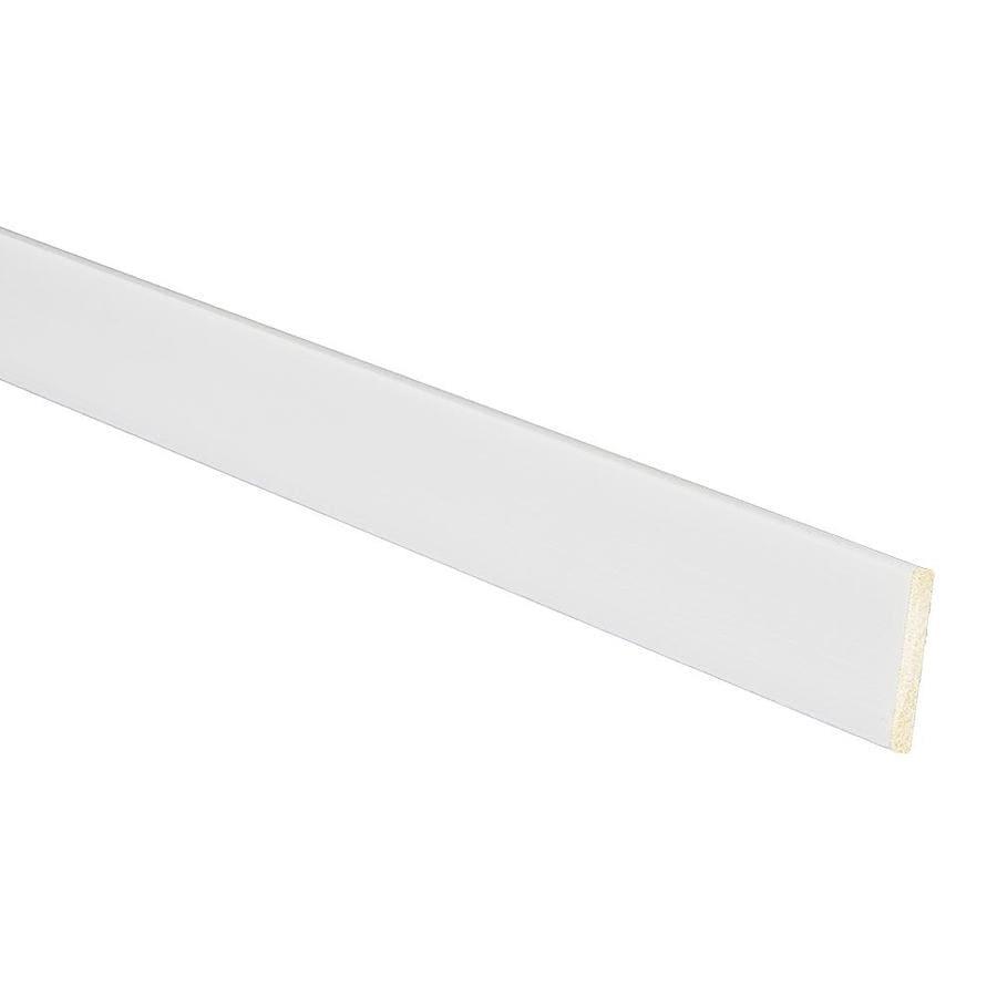 1/8-in x 1-1/8-in x 8-ft White Polystyrene Lattice Moulding