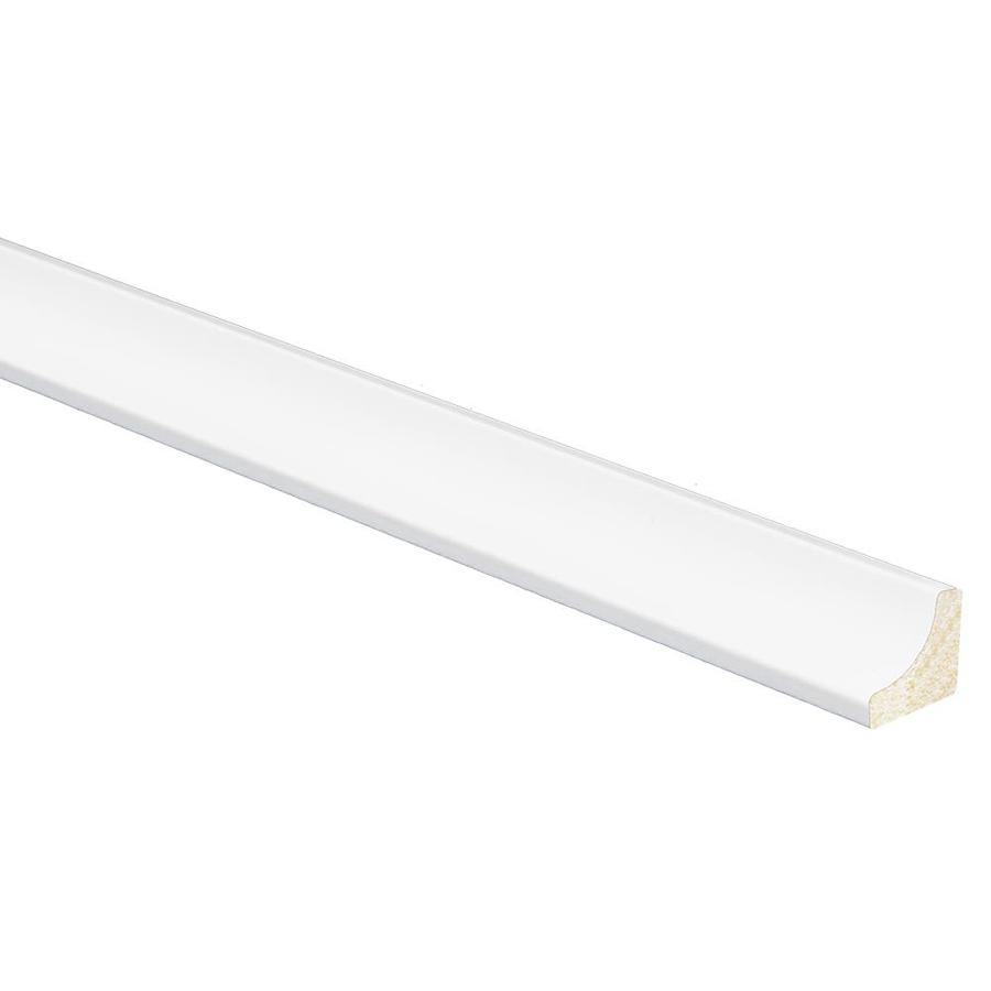 0.6875-in x 96-in Polystyrene Tapered Cove Moulding
