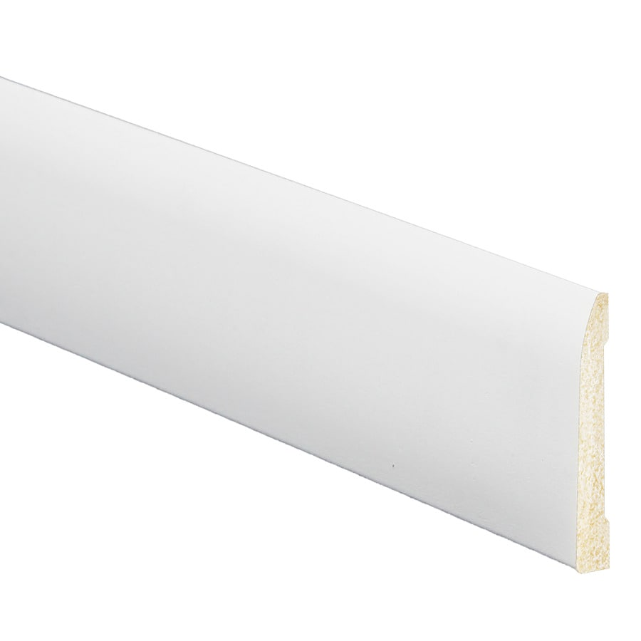 5/16-in x 2-3/8-in x 8-ft White Polystyrene Base Moulding