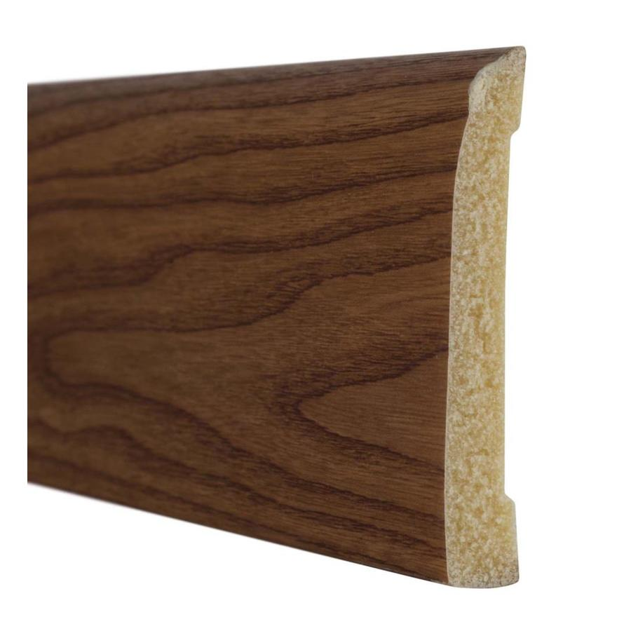 4.188-in x 8-ft Interior Polystyrene Baseboard