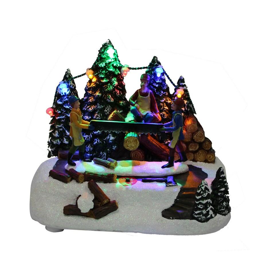Carole Towne Animatronic Lighted Musical Anthony's Christmas Shop
