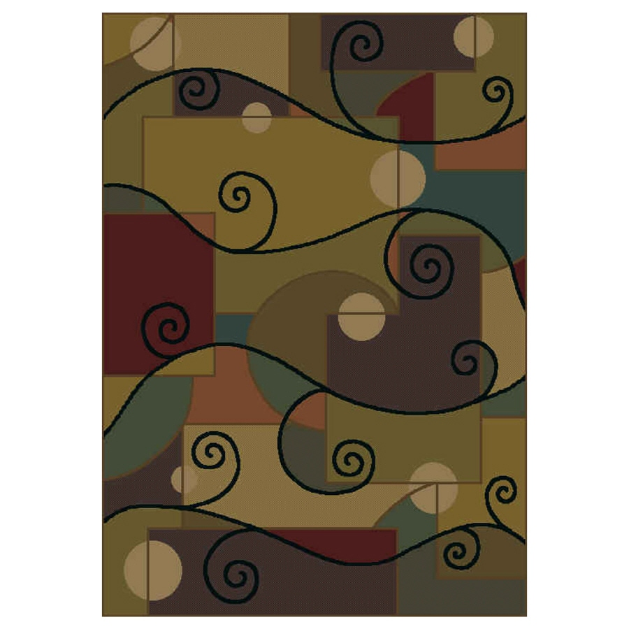 Shaw Living Rectangular Woven Throw Rug (Common: 2 x 4; Actual: 26-in W x 37-in L)