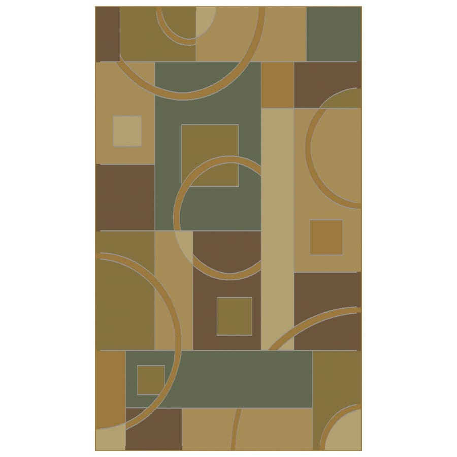 Shaw Living Rectangular Woven Throw Rug (Common: 2 x 4; Actual: 26-in W x 38-in L)