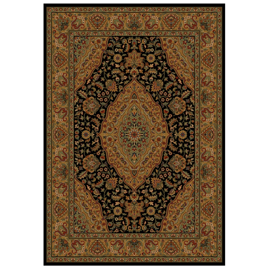 Shaw Living Zanzibar Rectangular Woven Throw Rug (Common: 2 x 4; Actual: 26-in W x 38-in L)