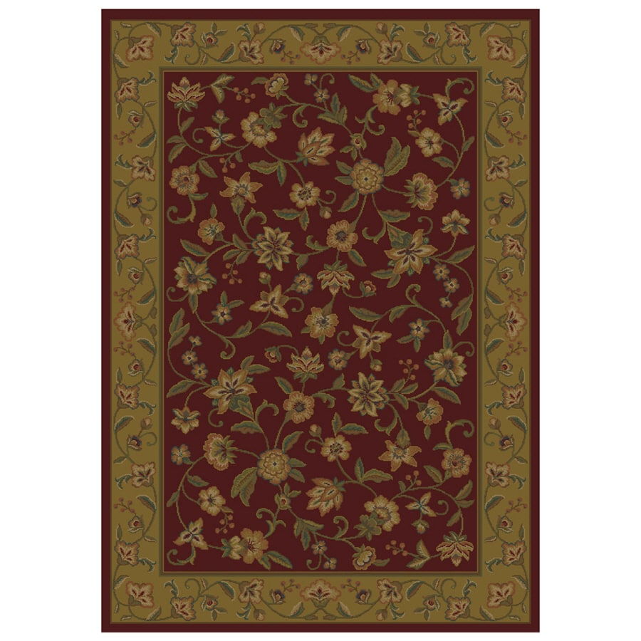 Shop Shaw Living Alice Rectangular Indoor Woven Area Rug Common 8 X 10 Act