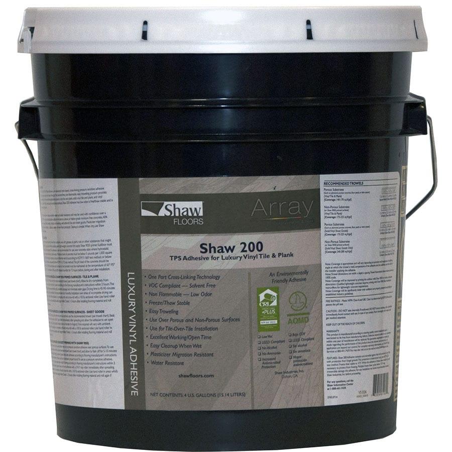 Shaw 4 Gallon Trowel Vinyl Adhesive