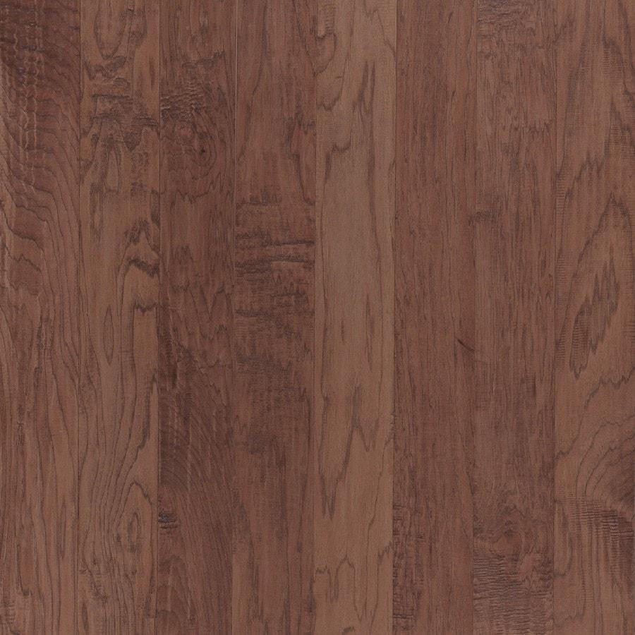 Shaw Dakota Hickory 5-in W Prefinished Hickory Engineered Hardwood Flooring (Monterey)