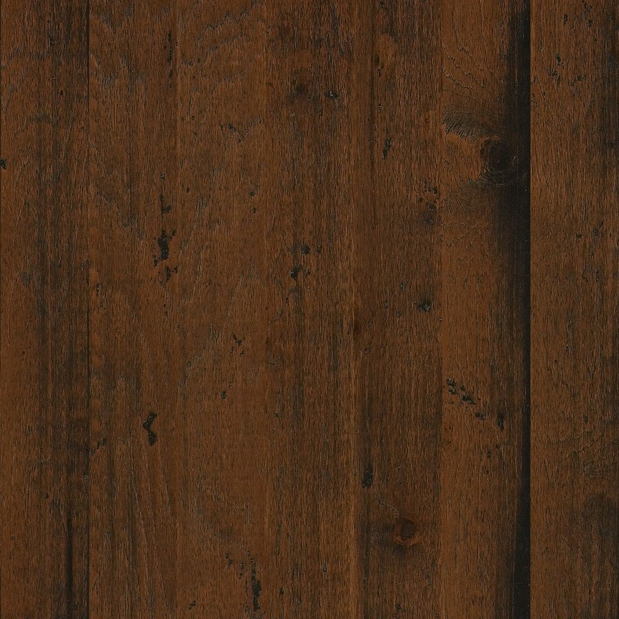 Shaw Appalachian Hickory 5-in W Prefinished Hickory Engineered Hardwood Flooring (Pioneer)