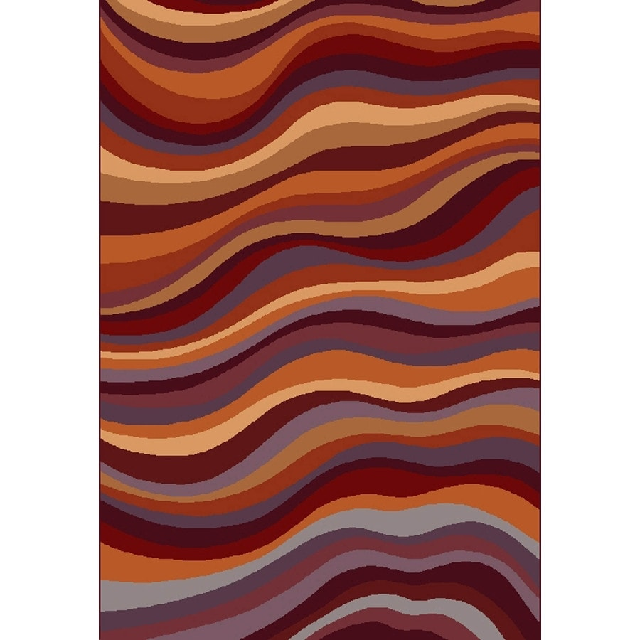 Shaw Living Hadley 7-ft 8-in x 10-ft 9-in Rectangular Multicolor Transitional Area Rug