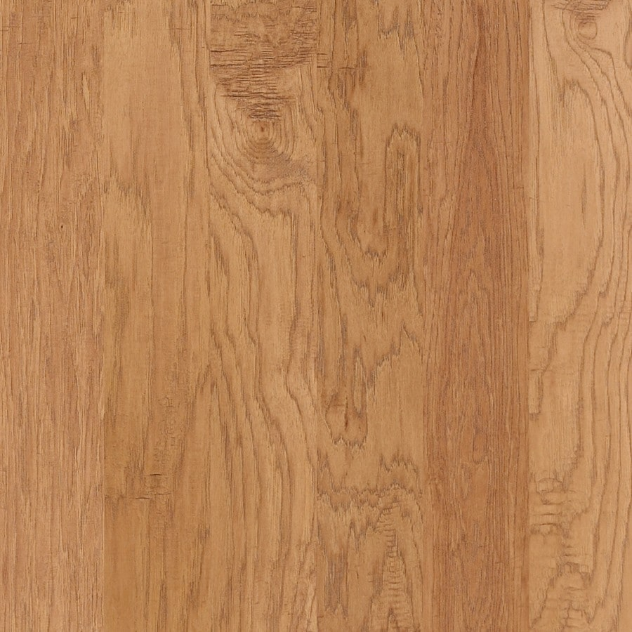 Shaw Prefinished Hickory Engineered Hardwood Flooring (Ginger)