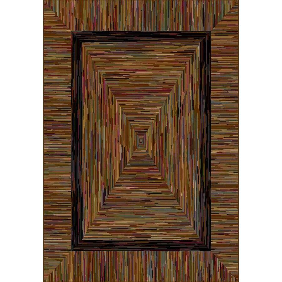 allen + roth River Hills Rectangular Indoor Woven Throw Rug (Common: 2 x 3; Actual: 26-in W x 39-in L)