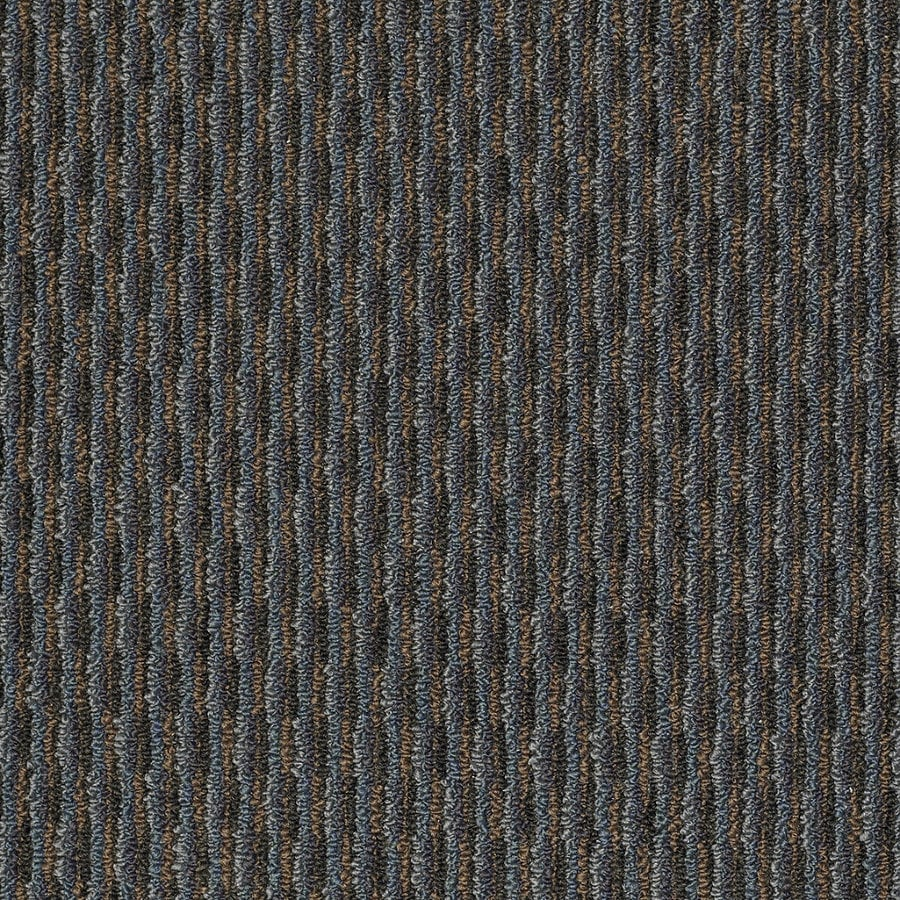 Shaw Home and Office Tapestry Blue Berber Outdoor Carpet