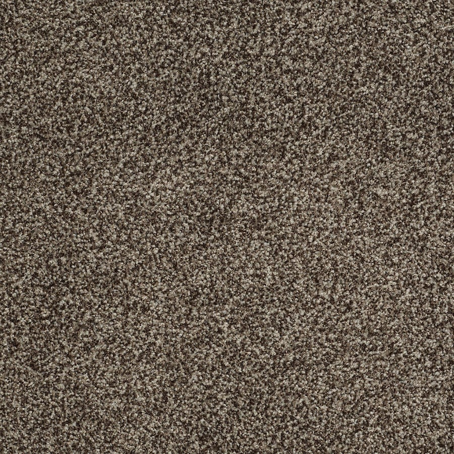 STAINMASTER TruSoft Peaceful Mood II Worn Pewter Textured Indoor Carpet