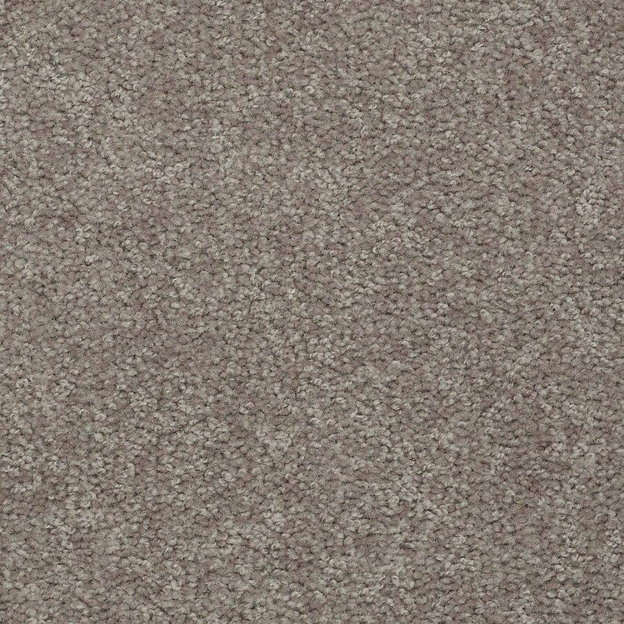 Shaw Stock Carpet Brown Textured Indoor Carpet