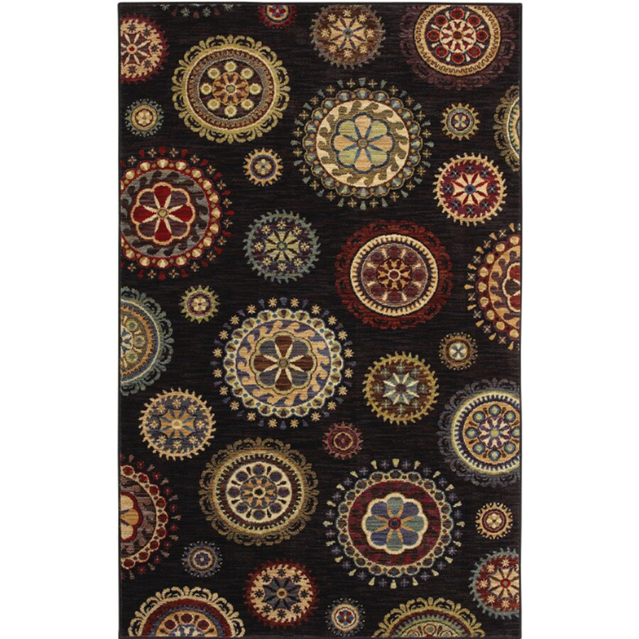 Shaw Living Dervish Rectangular Indoor Woven Area Rug (Common: 8 x 10; Actual: 93-in W x 123-in L)