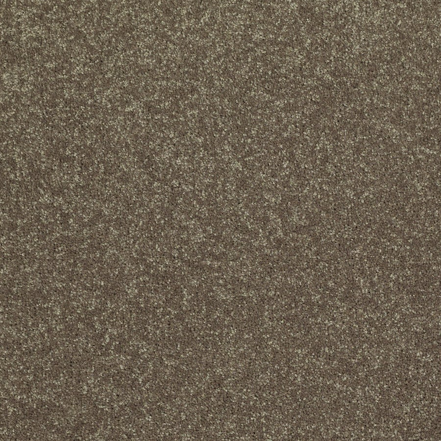 Shaw Cornerstone Collection Green Textured Indoor Carpet