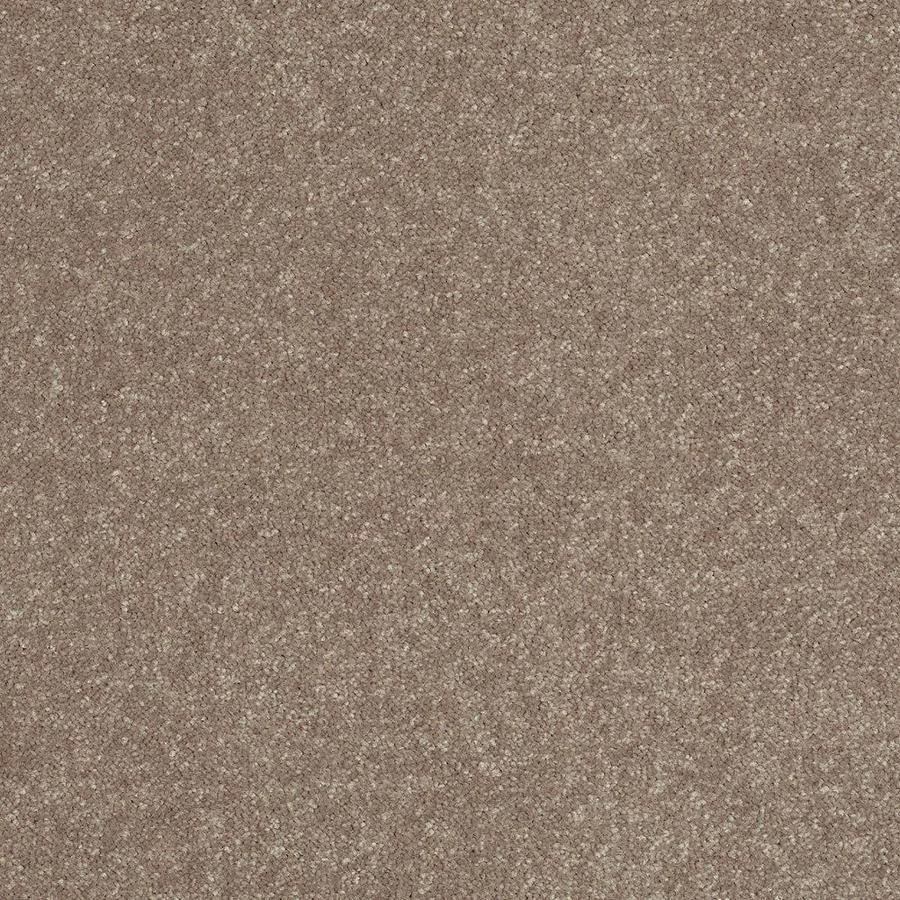 Shaw Tan Textured Indoor Carpet