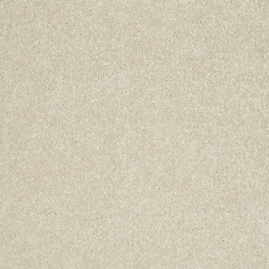 Shaw Cream Textured Carpet