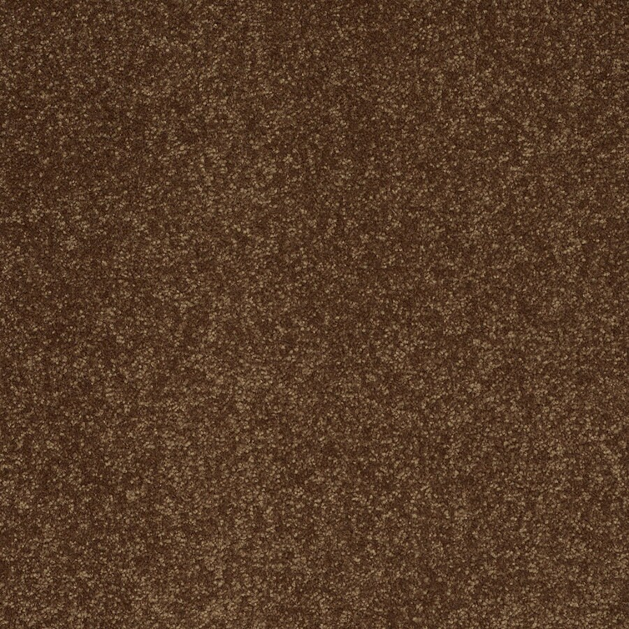 Shaw Cornerstone Collection Yellow Textured Indoor Carpet