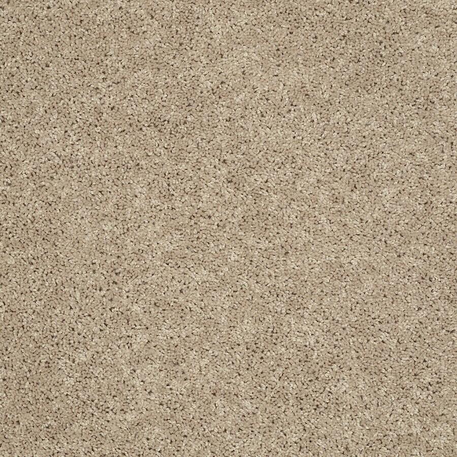 STAINMASTER Essentials Allegiance - S Cream/Beige/Almond Textured Indoor Carpet