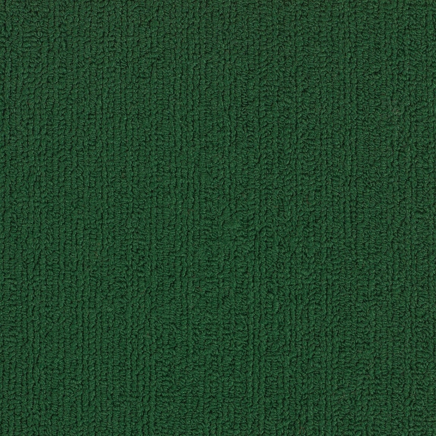 Shop Shaw Commercial Dark Green Berber Indoor Carpet at Lowes.com