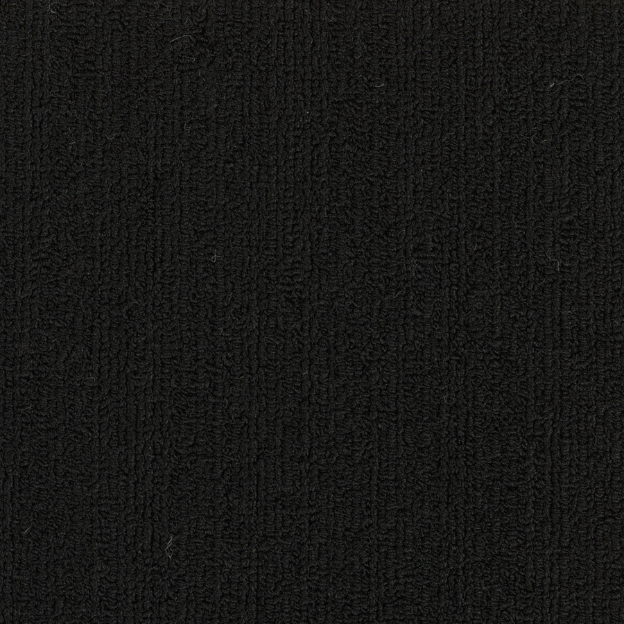 Shop shaw commercial black berber indoor carpet at for Black and white berber carpet