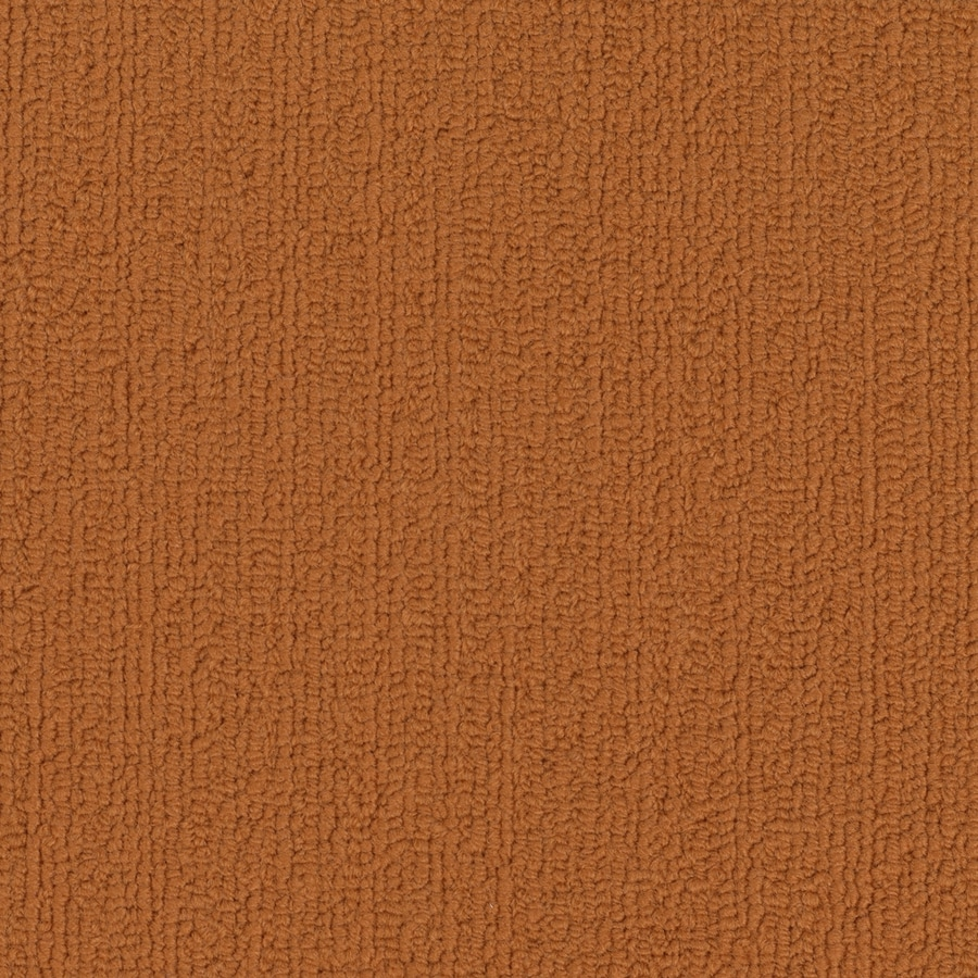 Shaw Commercial Orange Berber Indoor Carpet