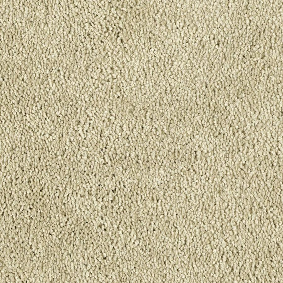 Shaw Essentials Soft and Cozy II - S French Cream Textured Indoor Carpet