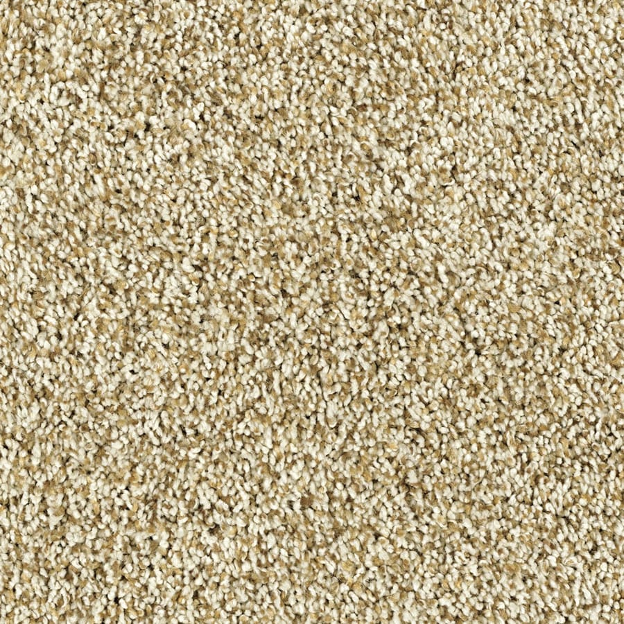 Shaw Essentials Soft and Cozy II - T White Washed Textured Indoor Carpet