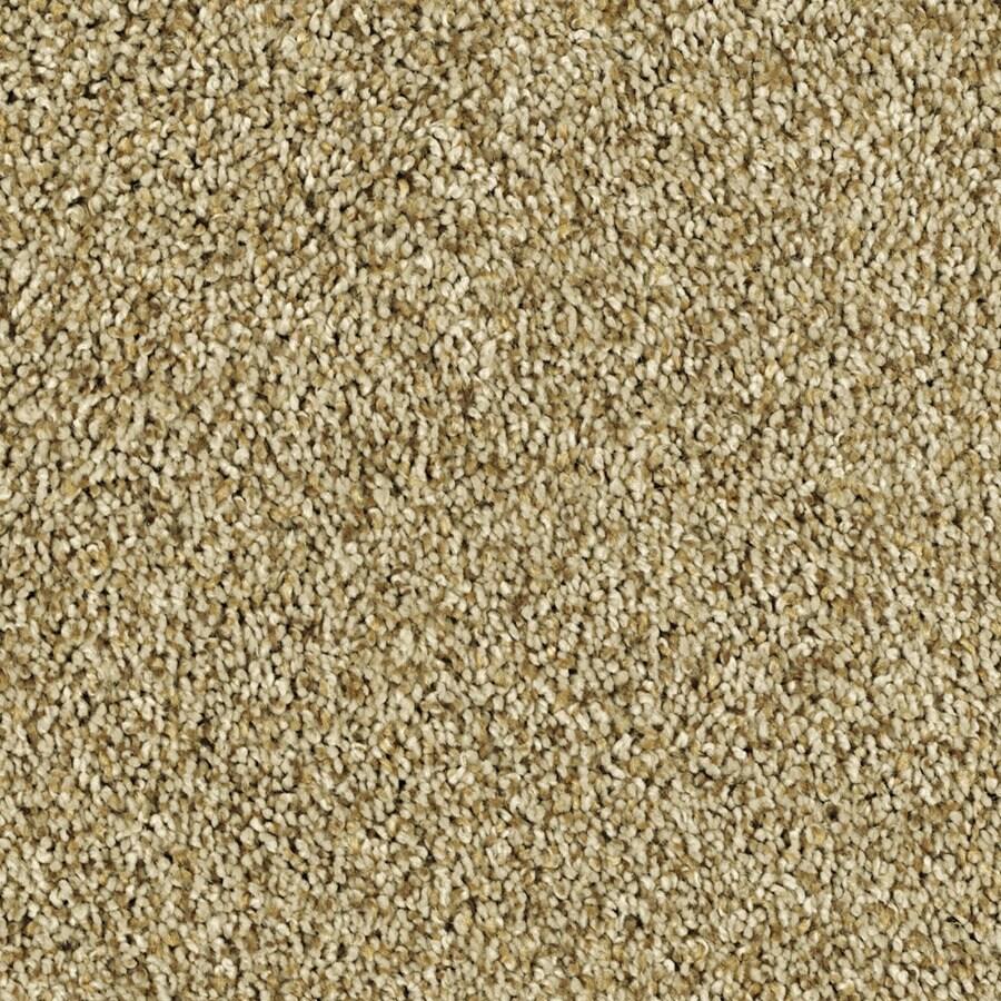 Shaw Essentials Soft and Cozy II - T Golden Oak Textured Indoor Carpet
